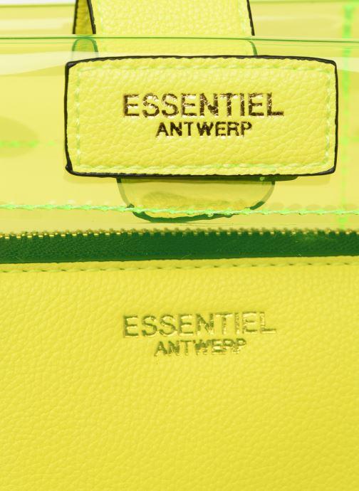 Handtaschen Essentiel Antwerp Smooch small shopper gelb ansicht von links