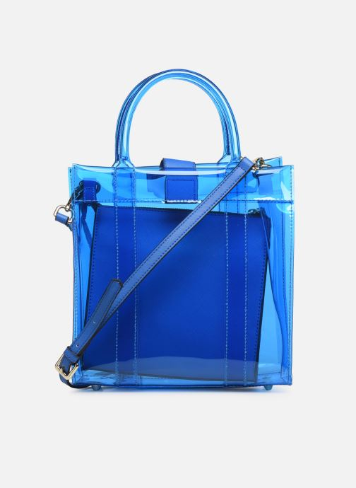 Sacs à main Essentiel Antwerp Smooch small shopper Bleu vue face