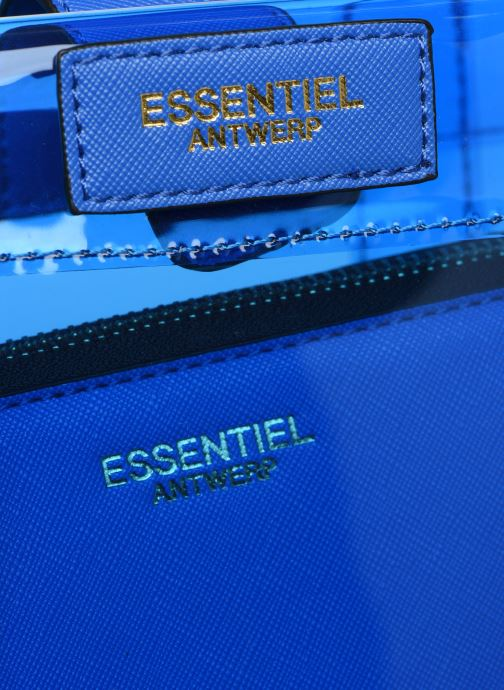 Handtaschen Essentiel Antwerp Smooch small shopper blau ansicht von links