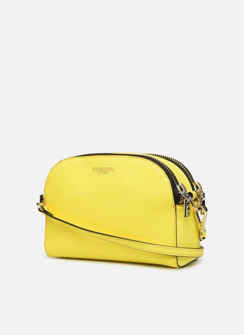 Handtassen Essentiel Antwerp Sexy shoulderbag Geel rechts