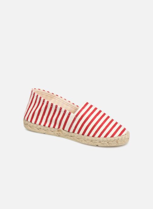 Espadrillos La maison de l'espadrille Sabline VE 454-1 Rød detaljeret billede af skoene
