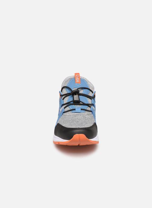 Sneakers Kangaroos Rooki SL Azzurro modello indossato