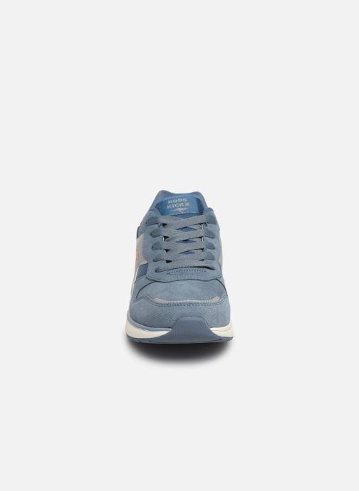 Baskets Kangaroos Kiroo Bleu vue portées chaussures