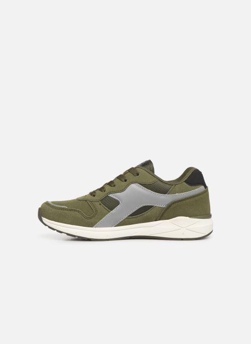 Sneakers Kangaroos Kiroo Verde immagine frontale