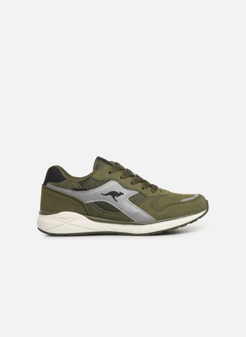 Sneakers Kangaroos Kiroo Verde immagine posteriore