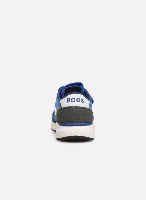 Baskets Kangaroos Invader RK Bleu vue droite