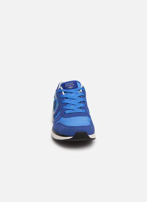 Baskets Kangaroos Rooki Sport Bleu vue portées chaussures