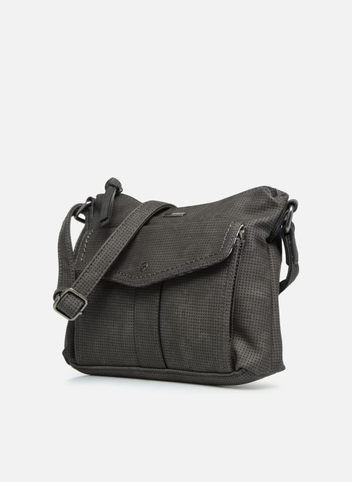 Handbags Tamaris Adrianna Crossbody S Grey model view