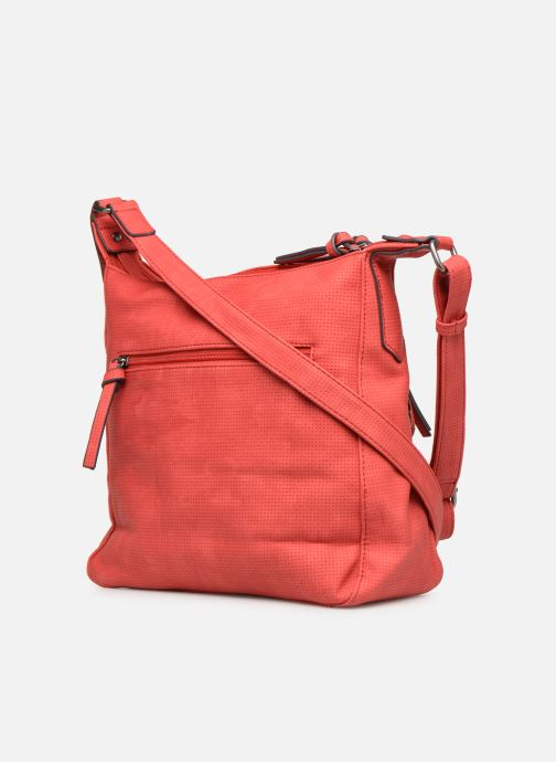 Handbags Tamaris Adrianna Hobo S Red view from the right