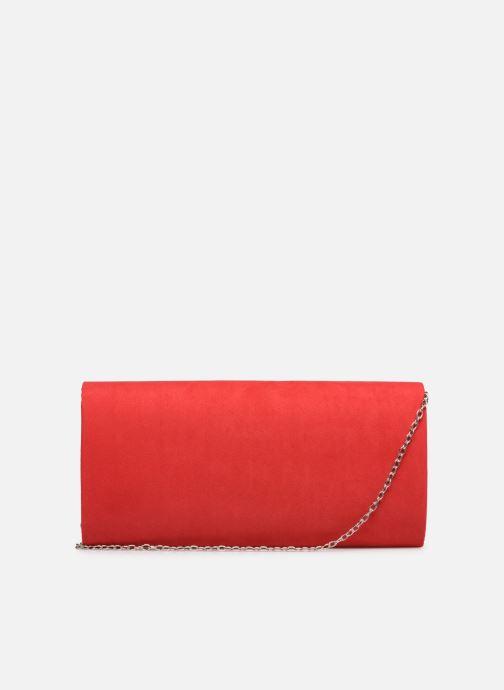 Handtaschen Tamaris Brianna Clutch rot ansicht von vorne