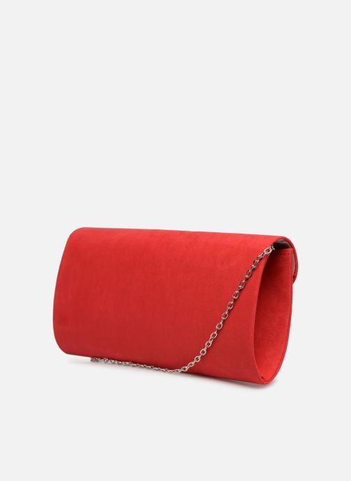 Handtaschen Tamaris Brianna Clutch rot ansicht von rechts