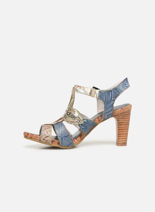 Sandales et nu-pieds Laura Vita Alcbaneo 209 Bleu vue face