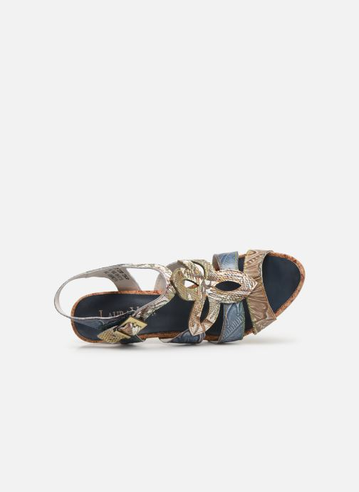 Sandales et nu-pieds Laura Vita Alcbaneo 209 Bleu vue gauche