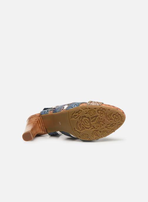 Sandales et nu-pieds Laura Vita Alcbaneo 209 Bleu vue haut