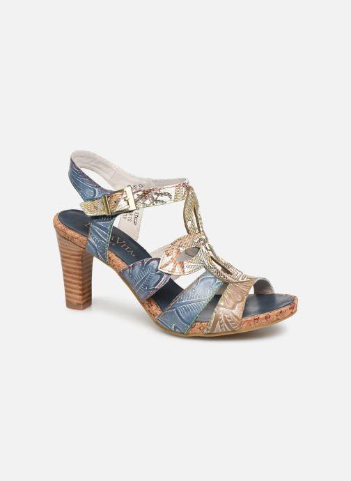 Sandales et nu-pieds Laura Vita Alcbaneo 209 Bleu vue détail/paire