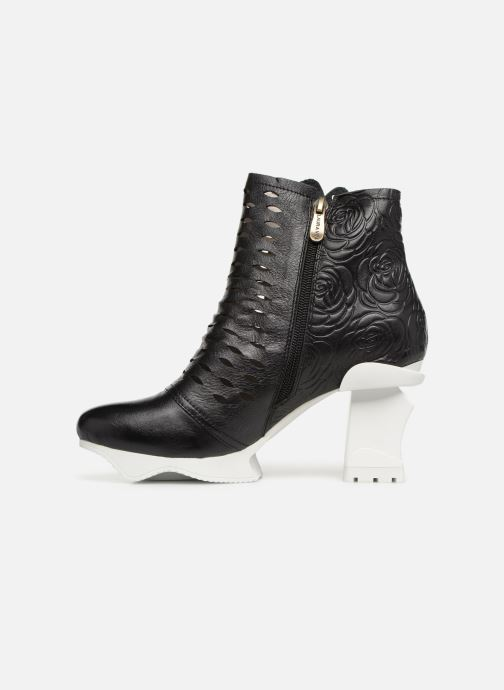 Ankle boots Laura Vita Armance 06 Black front view