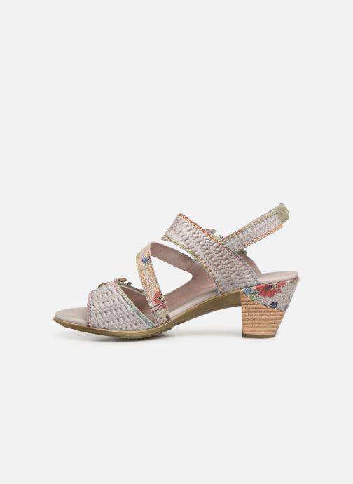 Sandales et nu-pieds Laura Vita Becttinoo  239 Beige vue face