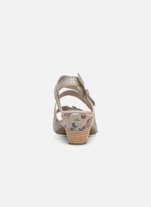Sandales et nu-pieds Laura Vita Becttinoo  239 Beige vue droite
