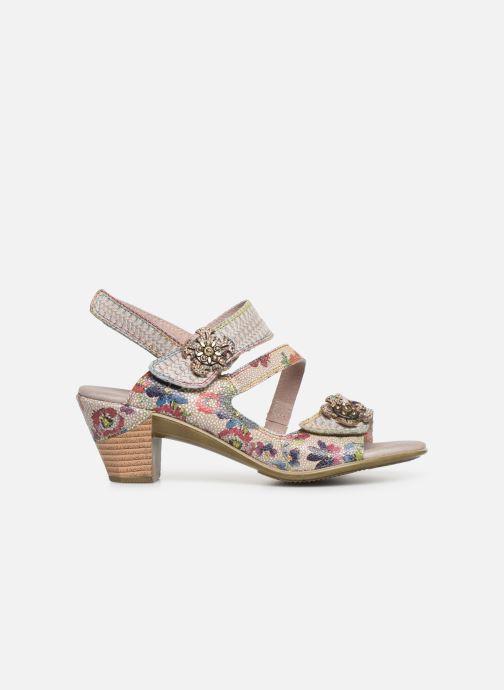 Sandales et nu-pieds Laura Vita Becttinoo  239 Beige vue derrière