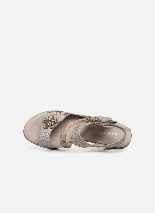 Sandales et nu-pieds Laura Vita Becttinoo  239 Beige vue gauche