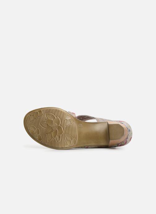 Sandales et nu-pieds Laura Vita Becttinoo  239 Beige vue haut