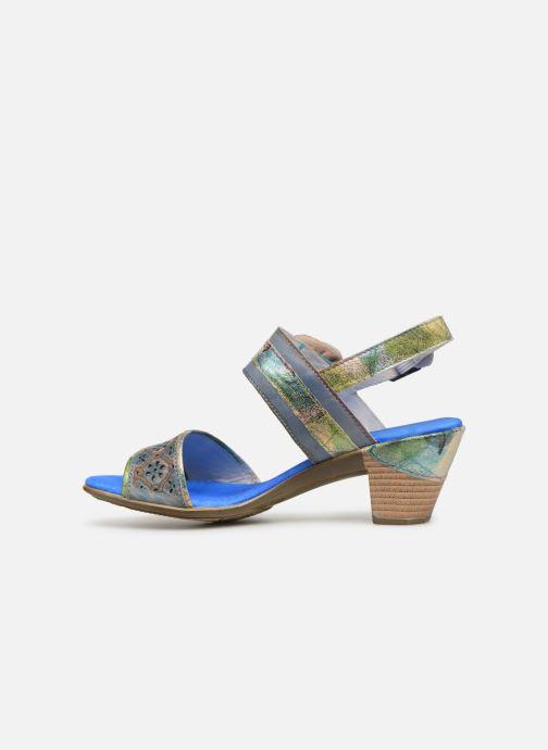 Sandals Laura Vita Becttinoo 34 Blue front view