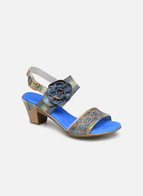 Sandals Laura Vita Becttinoo 34 Blue detailed view/ Pair view