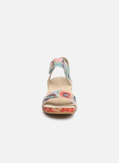 Sandales et nu-pieds Laura Vita Belinda 028 Multicolore vue portées chaussures