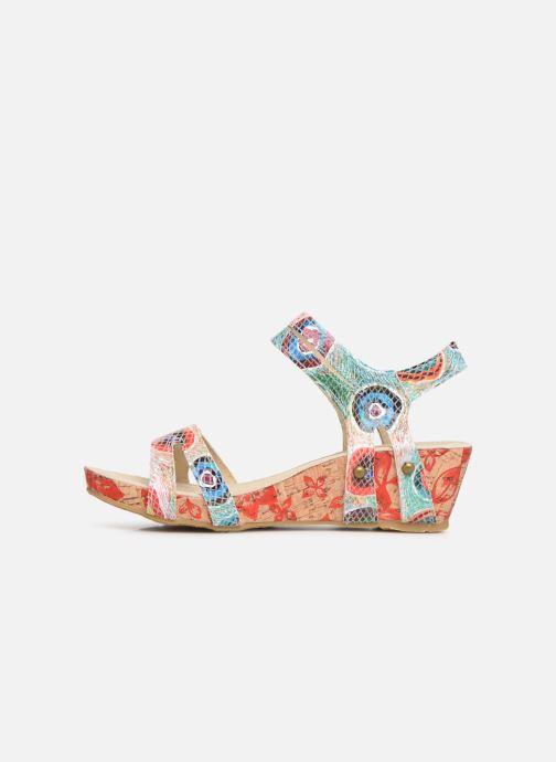 Sandales et nu-pieds Laura Vita Belinda 028 Multicolore vue face
