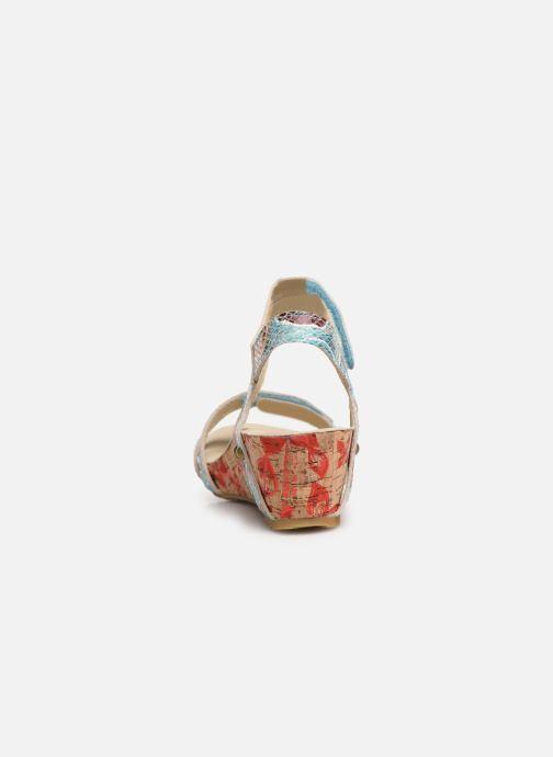 Sandales et nu-pieds Laura Vita Belinda 028 Multicolore vue droite