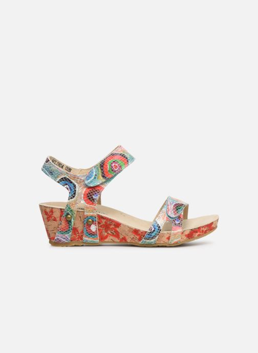 Sandales et nu-pieds Laura Vita Belinda 028 Multicolore vue derrière