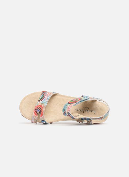 Sandales et nu-pieds Laura Vita Belinda 028 Multicolore vue gauche