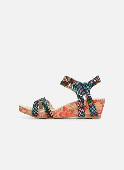 Sandali e scarpe aperte Laura Vita Belinda 028 Nero immagine frontale