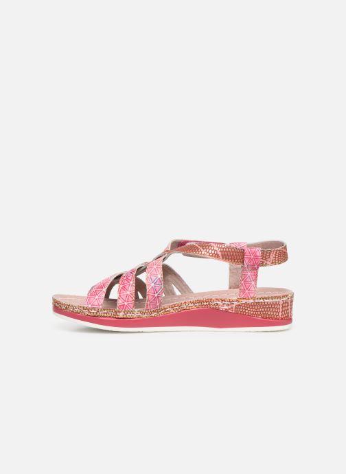 Sandales et nu-pieds Laura Vita Brcuelo 56 Rouge vue face