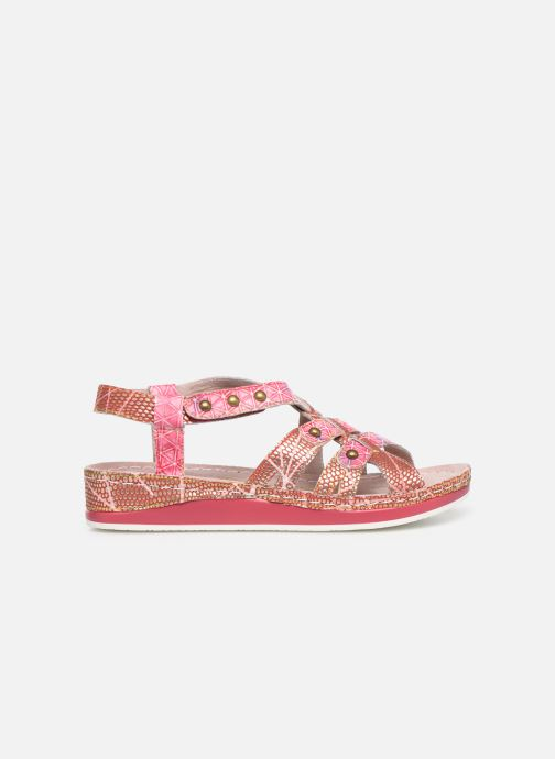 Sandals Laura Vita Brcuelo 56 Red back view