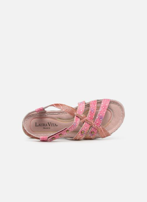 Sandales et nu-pieds Laura Vita Brcuelo 56 Rouge vue gauche