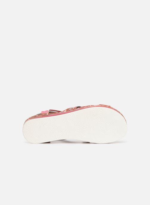 Sandales et nu-pieds Laura Vita Brcuelo 56 Rouge vue haut