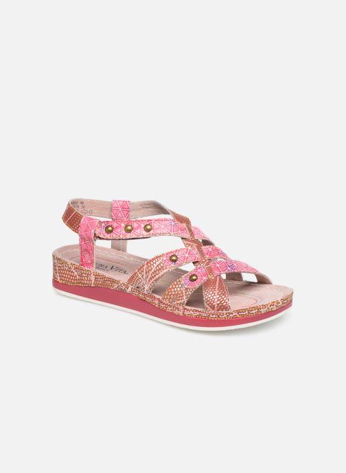Sandales et nu-pieds Laura Vita Brcuelo 56 Rouge vue détail/paire