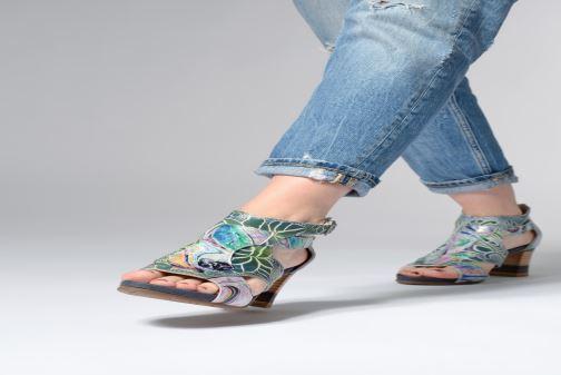 Laura Vita Celeste038 (Multicolore) - Sandales et nu-pieds (355818)