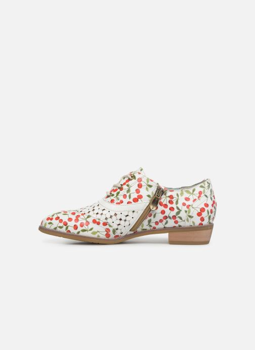 Lace-up shoes Laura Vita Claudie 10 White front view