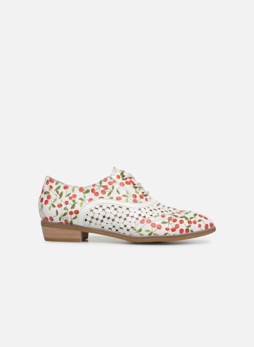 Lace-up shoes Laura Vita Claudie 10 White back view