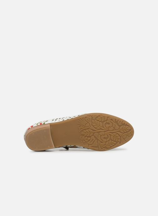 Lace-up shoes Laura Vita Claudie 10 White view from above