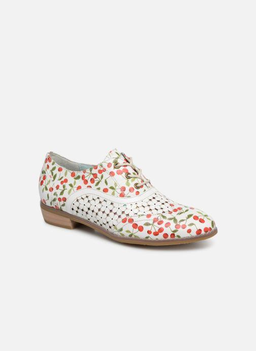 Chaussures à lacets Laura Vita Claudie 10 Blanc vue détail/paire