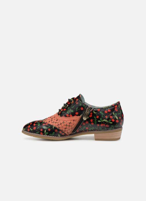 Zapatos con cordones Laura Vita Claudie 10 Negro vista de frente