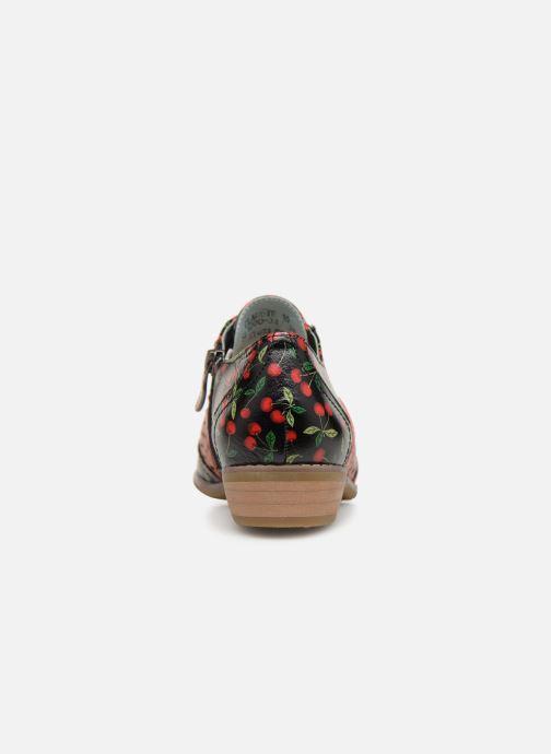 Zapatos con cordones Laura Vita Claudie 10 Negro vista lateral derecha