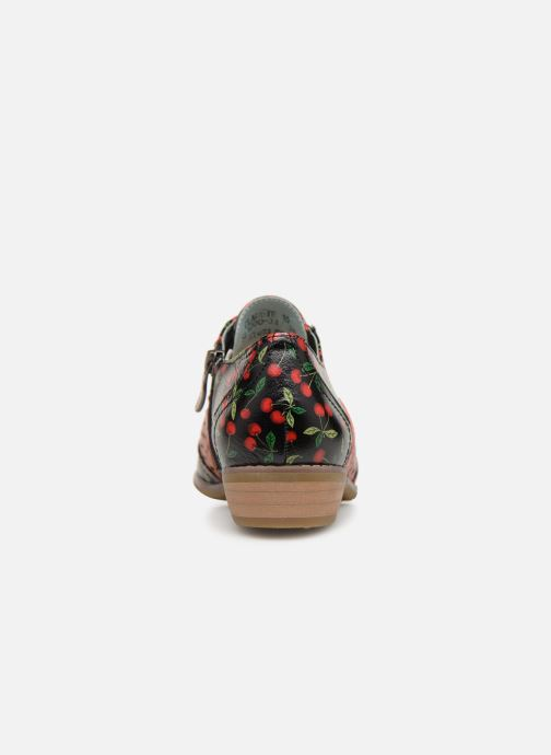 Lace-up shoes Laura Vita Claudie 10 Black view from the right