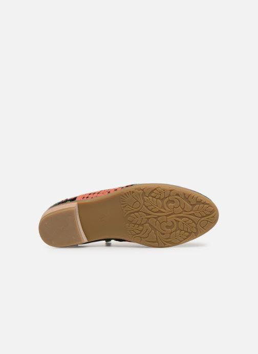 Zapatos con cordones Laura Vita Claudie 10 Negro vista de arriba