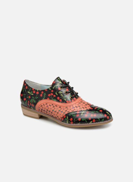 Zapatos con cordones Laura Vita Claudie 10 Negro vista de detalle / par