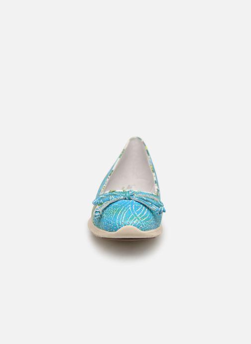 Ballerinaer Laura Vita Dexter 01 Blå se skoene på