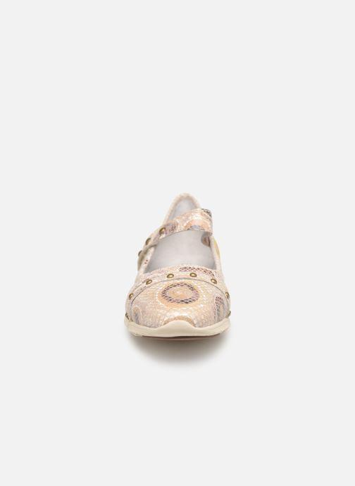 Ballet pumps Laura Vita Dexter 03 Beige model view